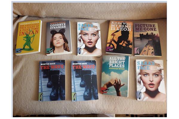 Engelse boeken. Serie Lijsters.